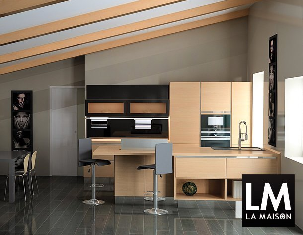 kitchen house cucine made in germany rendering san