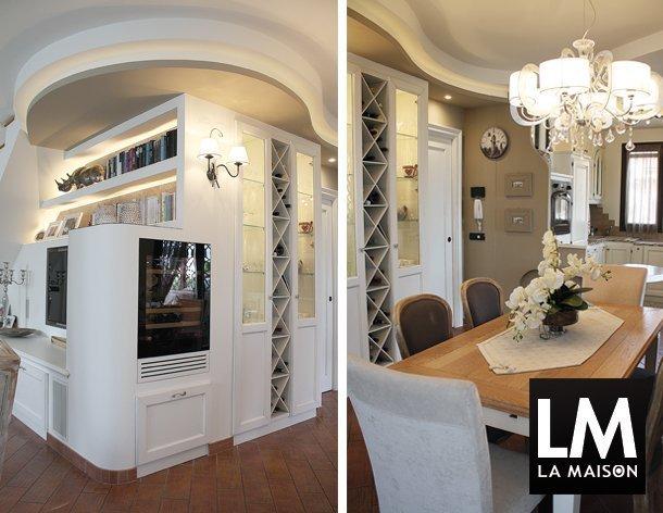 1_appartamento-shabby-chic-lampadario-tavolo-pavimento-cotto-610x472