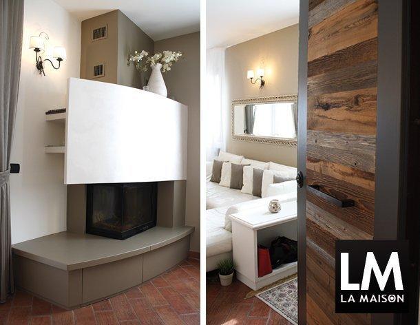 3-_appartamento-shabby-chic-termocamino-portone-ingresso-legno-varie-essenze-pavimento-cotto-610x472