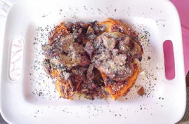 Tentazioni in Cucina: Capellini in Brodo & Tessano di San Marino Riserva 2005