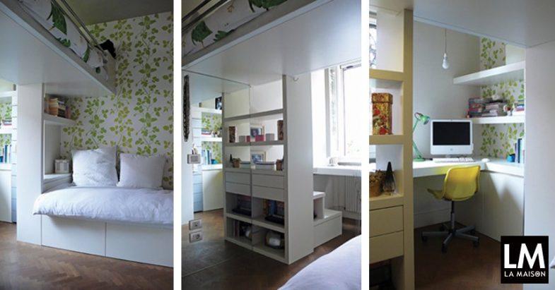 Micro cameretta per due ottimizzare la vivibilit della for Costruisci la tua stanza online