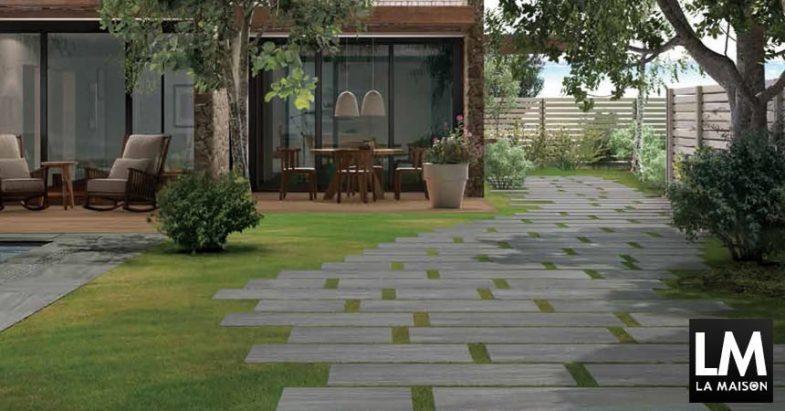 Architettare pavimenti per esterni piastrelle esterno casa - Gres porcellanato da esterno ...