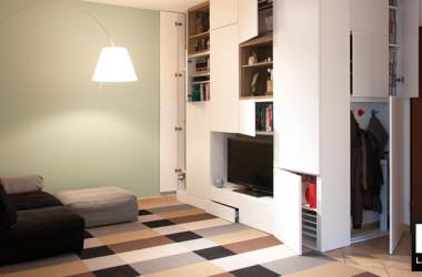 Riorganizzare un appartamento per nuove esigenze funzionali