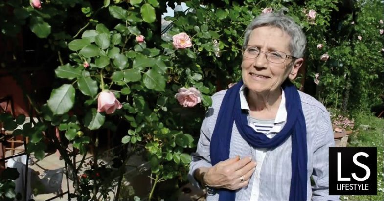 Maria Pia Trivisonno Giaquinto e le sue rose