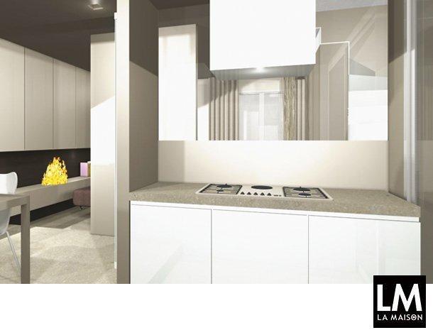 Ristrutturare un appartamento per camuffare la scala rivestita in ...
