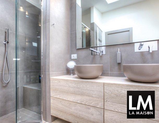 Arredamento estroso arredare villetta bifamiliare di recente costruzione - Arredo bagno shabby chic ...