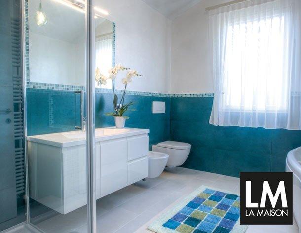 Arredo Bagno Mosaico Verde Acqua : Mobile bagno verde affordable mobile bagno ante e cassetti verde