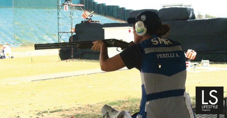 Alessandra Perilli, la donna col fucile