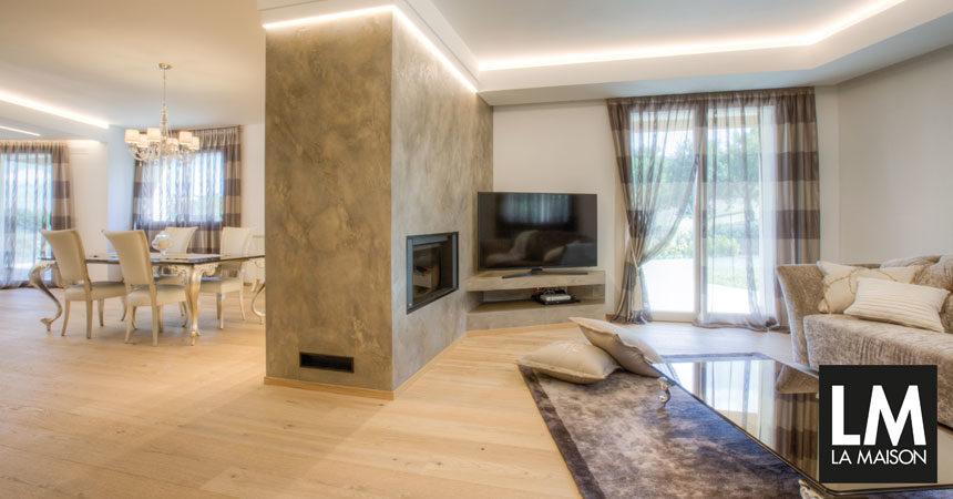 la maison e lifestyle magazine | arredare casa, bagno, cucina ... - Ambiente Unico Cucina Soggiorno Casa