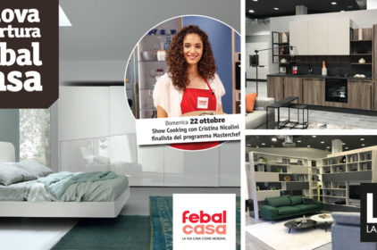 Febal Casa: inaugurazione del nuovo store a Bologna