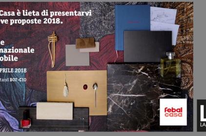 Febal Casa al Salone del Mobile – Milano 2018