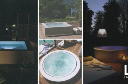 Outdoor: le mini piscine Zucchetti.Kos