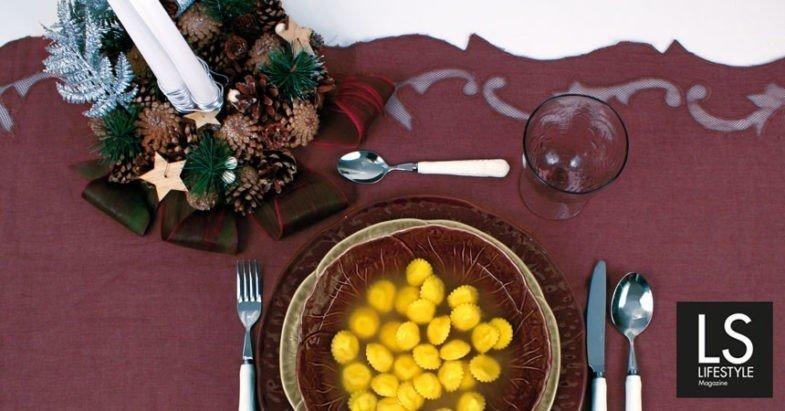 Ricetta. Cappelletti al formaggio in brodo (tradizionale e vegetale)