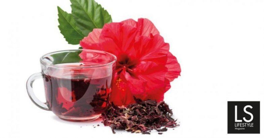 Karkade: benefici dell'infuso color rubino