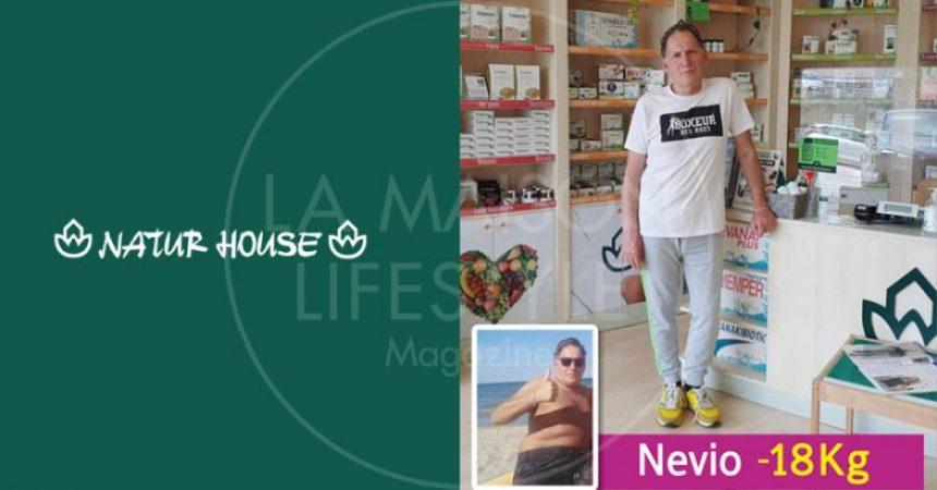 Storie di successo con Naturhouse. Nevio ci racconta come il Metodo Naturhouse ha migliorato la sua vita