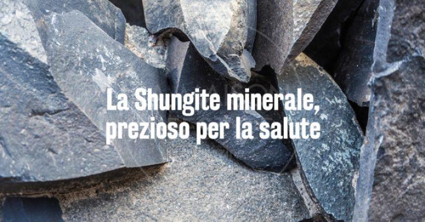 La Shungite minerale, prezioso per la salute